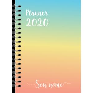 Planner 2020 - Colorido